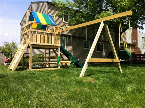 wooden swing philippines mike s swing sets gallery