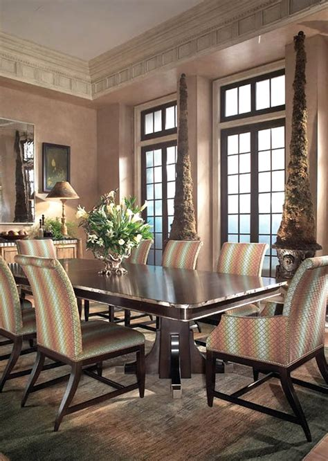 luxury dining room sets collective dwnm also luxurious