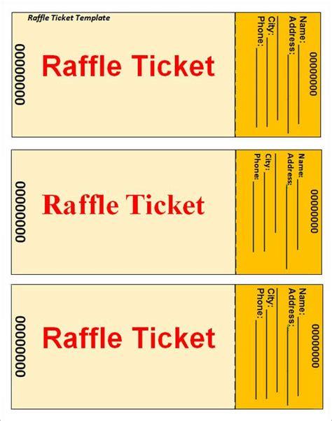 Microsoft Raffle Ticket Template by Raffle Ticket Template Flyer Ideas Templates