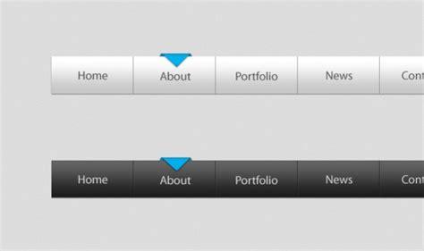 templates psd html psd html menu template psd file free download