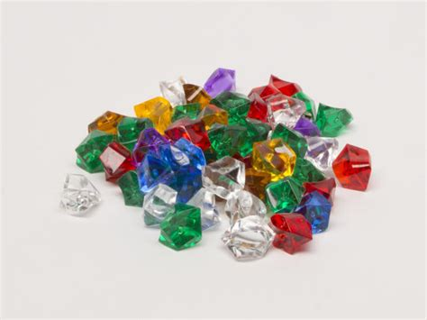 colored plastic gems resources point tokens
