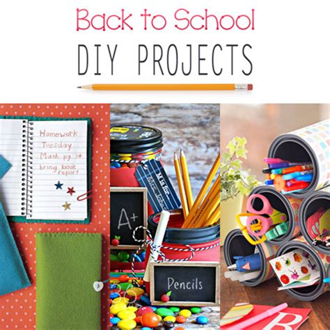 college diy projects back to school diy projects the cottage market