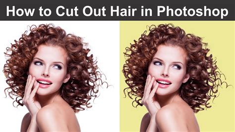 How To Change Hairstyle In Photoshop Cs5 by How To Style Hair In Photoshop How To Cut Out Hair In