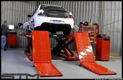 Used Alignment Rack by Stm S New Alignment Rack Is Up And Running