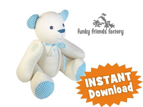 memory teddy bear patterns teddy bear sewing patterns printable
