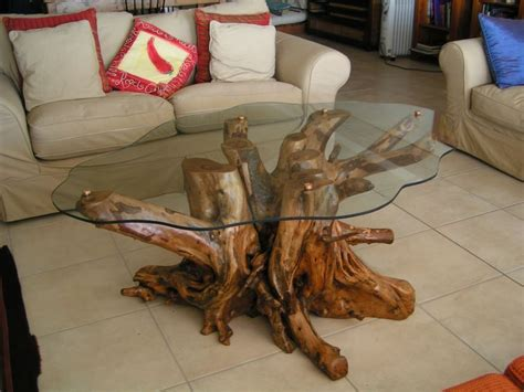 tree stump live edge coffee table made of tree root table diy search farmhouse root