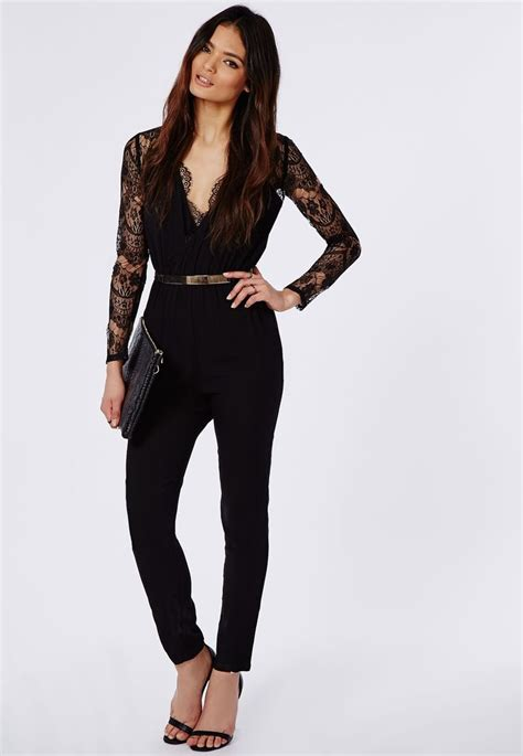 Jumpsuit Murah Midi Jumpsuit 2 best 25 jumpsuit with sleeves ideas on formal black jumpsuits with sleeves vsw fashion