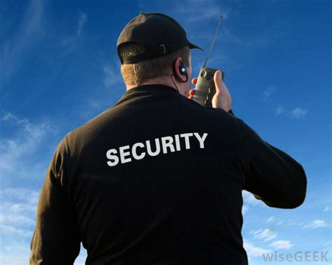 security guard attitude what are the different types of security officer training