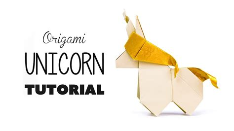 How To Make Paper Unicorn - origami unicorn tutorial diy paper kawaii my
