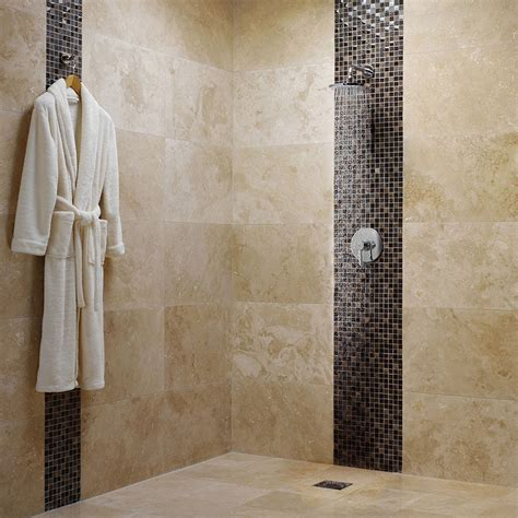 bathroom design ideas with mosaic tiles stylish vertical tile in shower design ideas