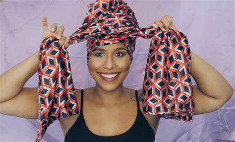 tutorial turbante com lenço tutorial de turbante consci 234 ncia negra t 244 de cacho