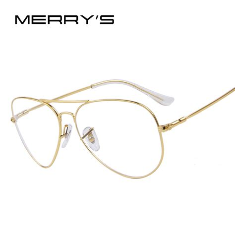 merry s fashion titanium eyeglasses frames brand