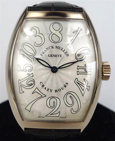 Franck Muller Tikar Gold White franck muller hours ref 7851ch 18k white gold gr luxury singapore rolex reliable