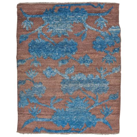 Tibetan Rugs For Sale by Antique Brown Blue Tibetan Sitting Rug Collectors