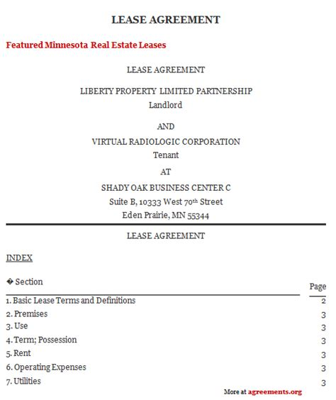 Tenancy Agreement Letter Pdf Tenancy Agreement Template Free Pdf