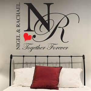 Bedroom Wall Decals Uk Wall Decal Ideas For Personalised Wall Decals Uk