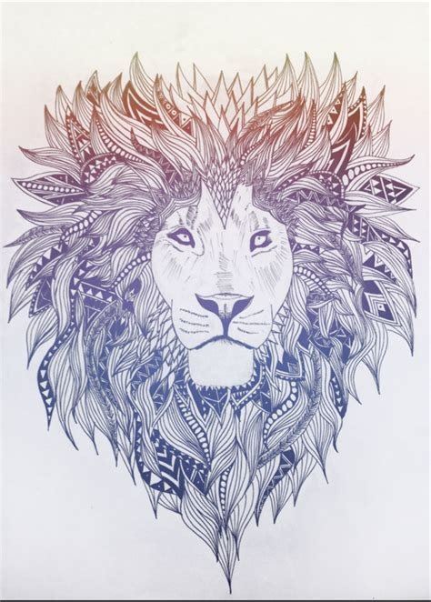 lion design on pinterest lion illustration lion art and