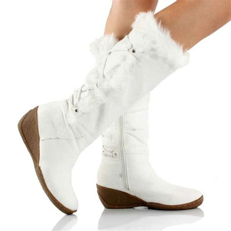 white winter snow boots for www imgkid the