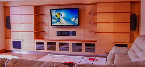 Designs For Living Room home theater design entertainment center design
