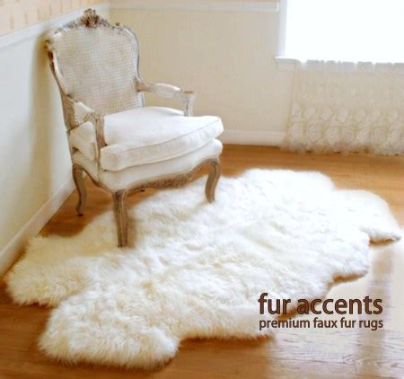 faux white sheepskin rug 3x5 thick white faux fur sheepskin rug quatro new by fur accents