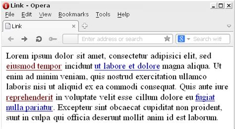 css visited link color css cambiare il colore dei link tutorials photoshop