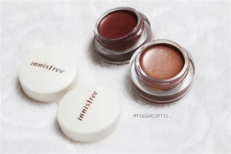 Mineral Single Shadow my sugarcoffee review innisfree s mineral single