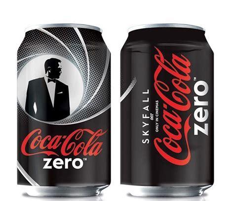 Cherry Coke Unveils Designer Cans by Bond Coca Cola Unveils Skyfall Coke Zero Design