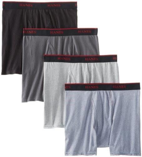 hanes comfort stretch boxer briefs hanes men s classics tagless stretch fit short leg boxer