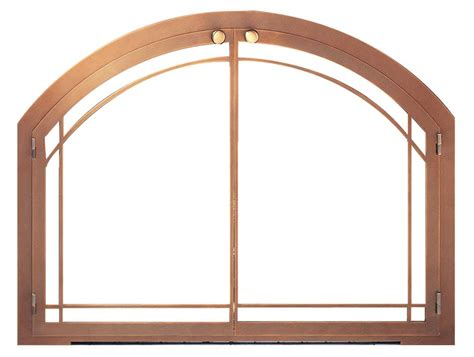 Arch Fireplace Doors by Legend Arch Frame Masonry Fireplace Design Specialties