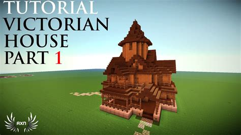 minecraft cool house tutorial minecraft tutorials victorian house part 1 5 home ideas minecraft pinterest
