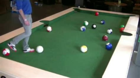 soccer player on pool table espn