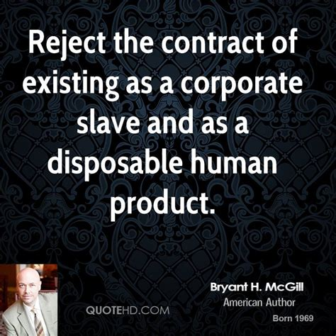 Letter Of Agreement Mcgill bryant h mcgill quotes quotehd