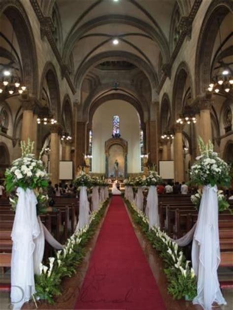 wedding flowers decorations manila philippines dlr - Simple Church Wedding Budget Philippines