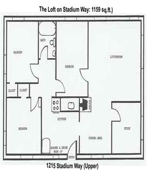 stadium lofts floor plans apartment rentals loft and studio 1215 stadium way