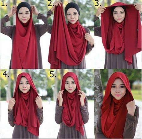 tutorial menggunakan niqab 17 best images about diy hijab on pinterest simple