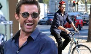 Hugh Jackman Was Stunned After Witnessing Brain Surgery by Hugh Jackman Rents A Bicycle To Enjoy Some Sightseeing In