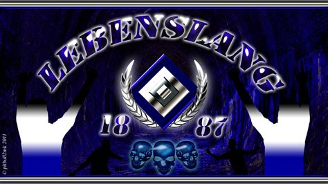 HSV Lebenslang Hintergrundbild   1600x900   Kostenlose