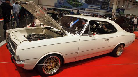 1970 Opel Record C Coupe Tuning At Essen Motorshow