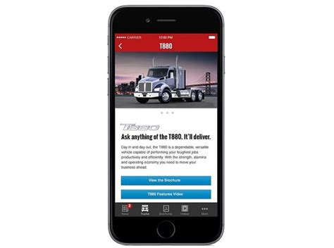 nearest kenworth dealer kenworth launches essentials app for mobile devices