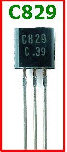 transistor npn c 829 c829 datasheet vcbo 30v npn transistor panasonic
