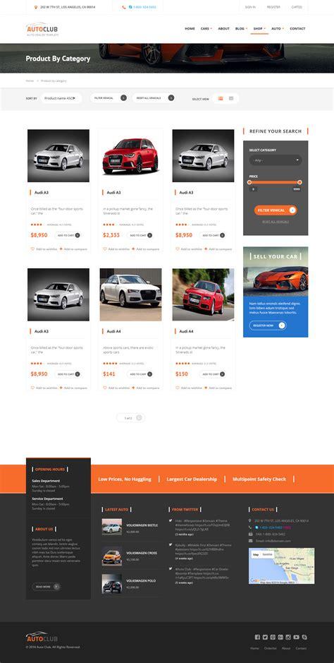 drupal theme views pager auto club responsive car dealer drupal theme by