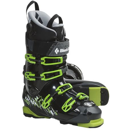 ski boots black equipment factor 130 at ski boots for