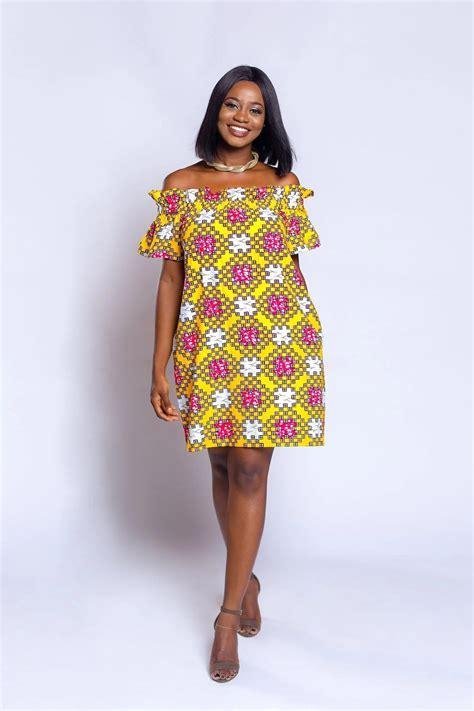 Short African dresses for ladies YEN.COM.GH