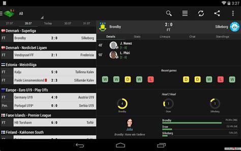 livescore mobile app soccer livescore app android apps apk 4338770