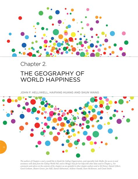 Pdf The Of Happiness by Pdf The Geography Of World Happiness