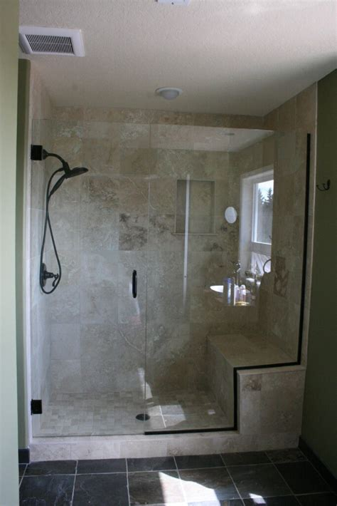 walk in shower designs with bench shower bench ideas treenovation