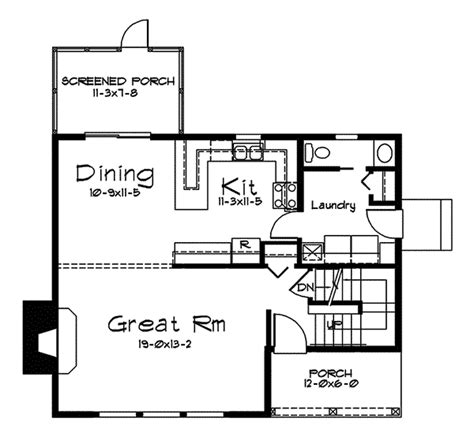waterview floor plan waterview vacation home plan 057d 0022 house plans and more