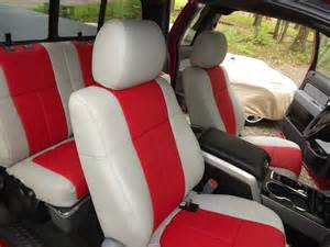 Leather Seat Covers For A Truck Ford Truck Leather Seat Covers