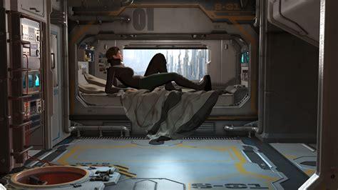 sci fi bedroom sci fi bedroom by ellisonc poser science fiction
