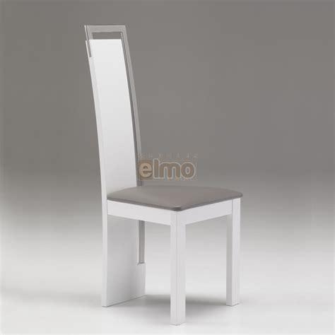 chaises salle à manger design chaise salle 224 manger design moderne bois massif et chrome